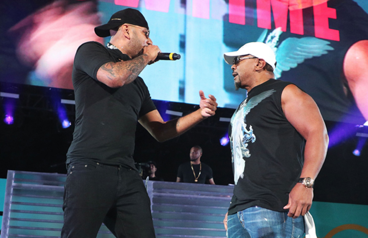 Swizz Beatz Brings Out Timbaland for Beat Battle at Summer Jam