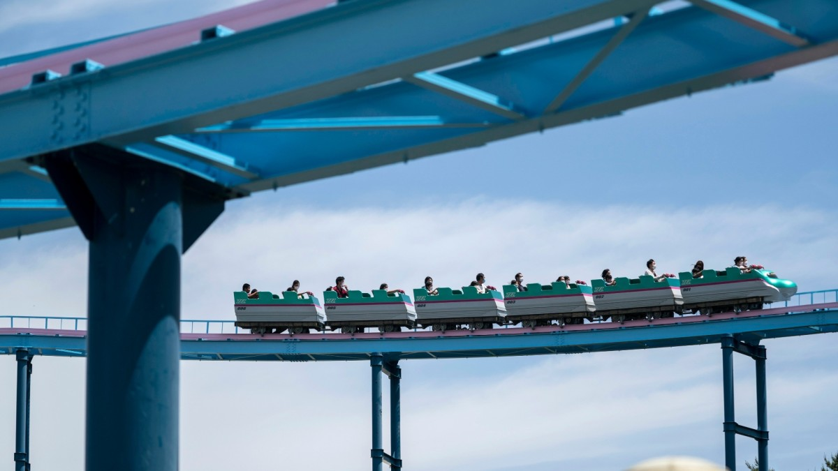 Japan's Amusement Parks Urge People to 'Refrain From Vocalizing Loudly' on Roller Coasters Due to COVID-19