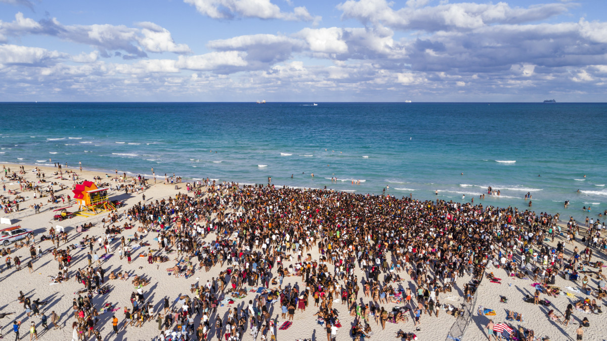 Spring Break Could Boost Transmission of More Infectious UK COVID Strain