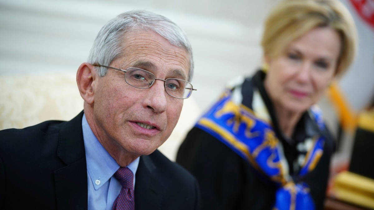 Dr. Fauci Warns Prolonged Lockdowns Could Cause 'Irreparable Damage'