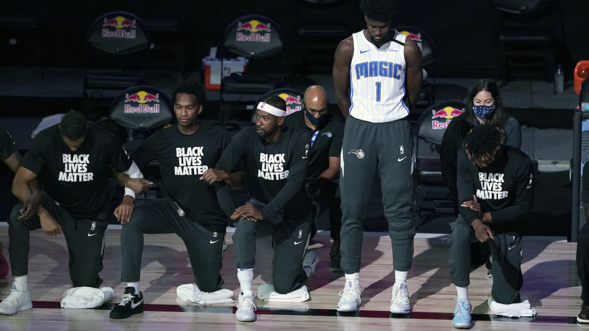 Jonathan Isaac Explains Why He Didn't Kneel Nor Wear BLM Shirt During Anthem