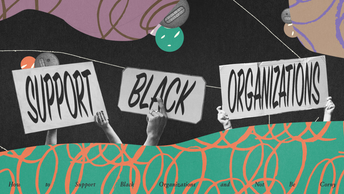 How to Support Black Organizations and Not Be Corny
