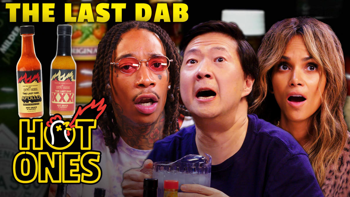 The Best Last Dab Reactions of All Time | Hot Ones