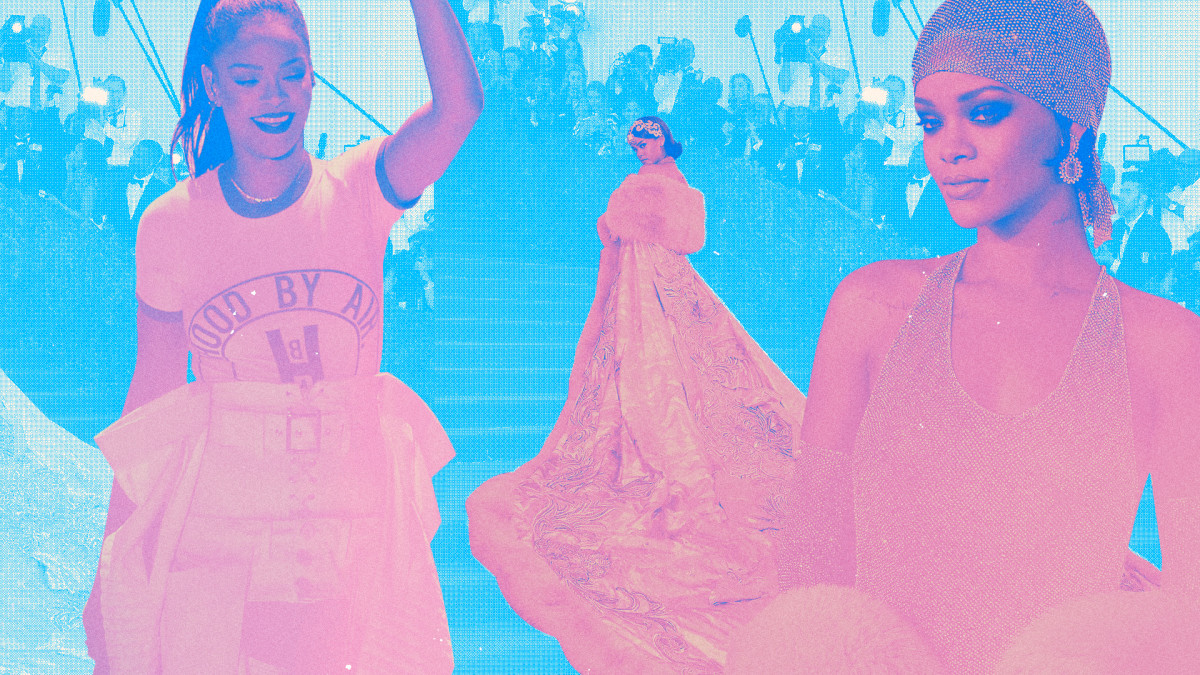 The Best Rihanna Outfits
