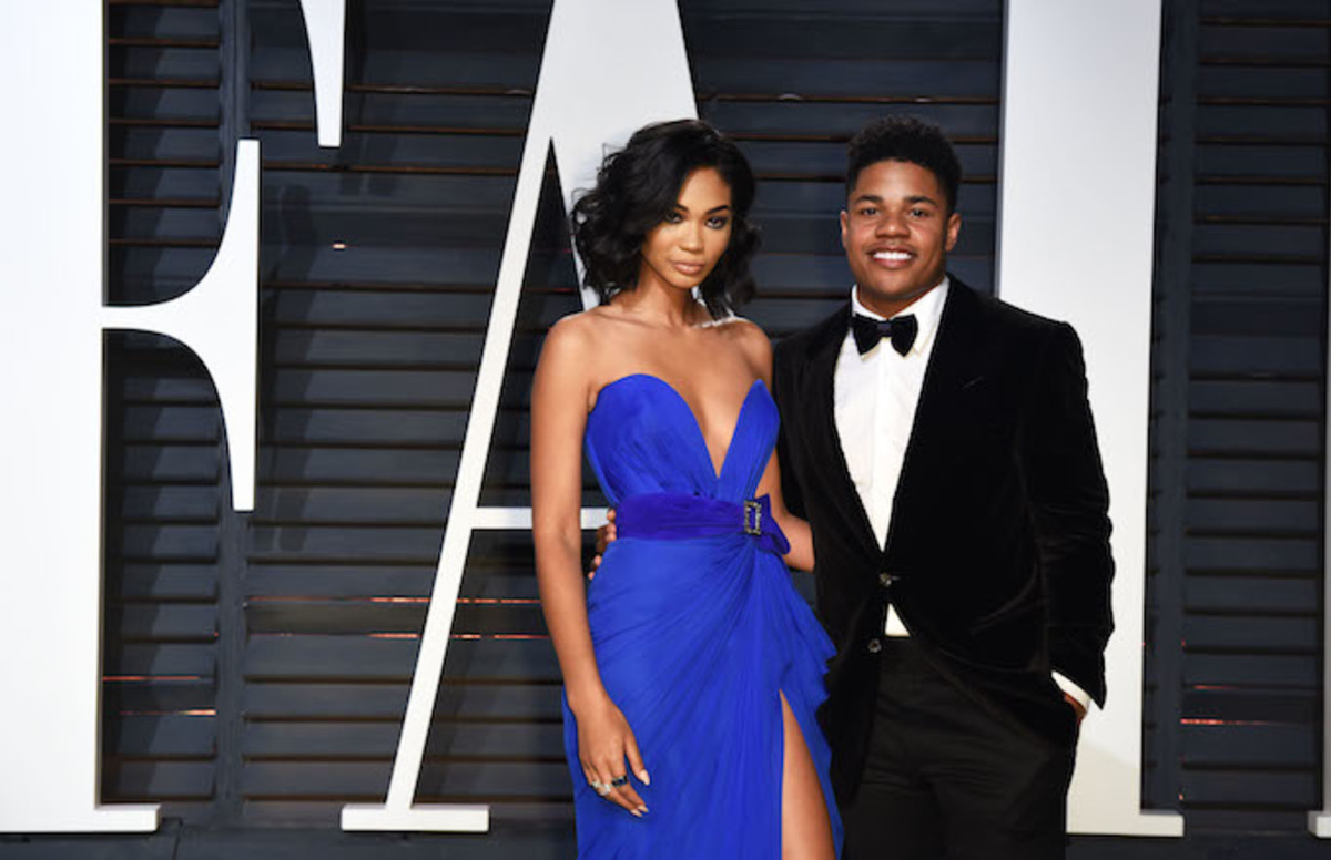 Chanel Iman and Sterling Shepard Tie the Knot in Beverly Hills
