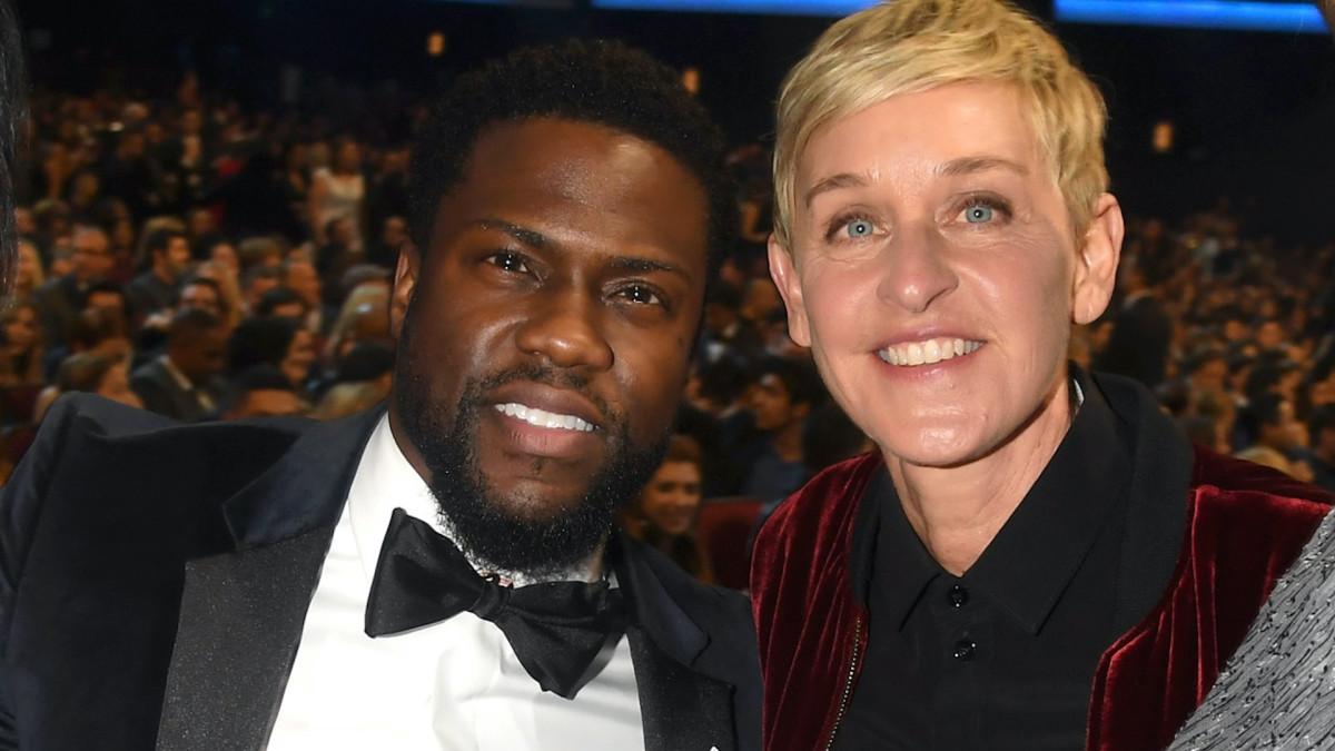 Kevin Hart Calls Ellen `One of the Dopest...
