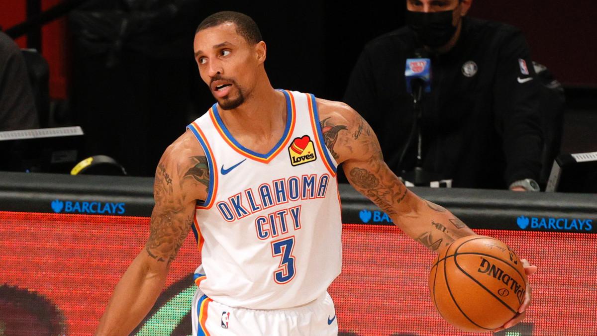 OKC's George Hill Pushes Back Against NBA COVID-19 Protocols: 'I Am a Grown Man'