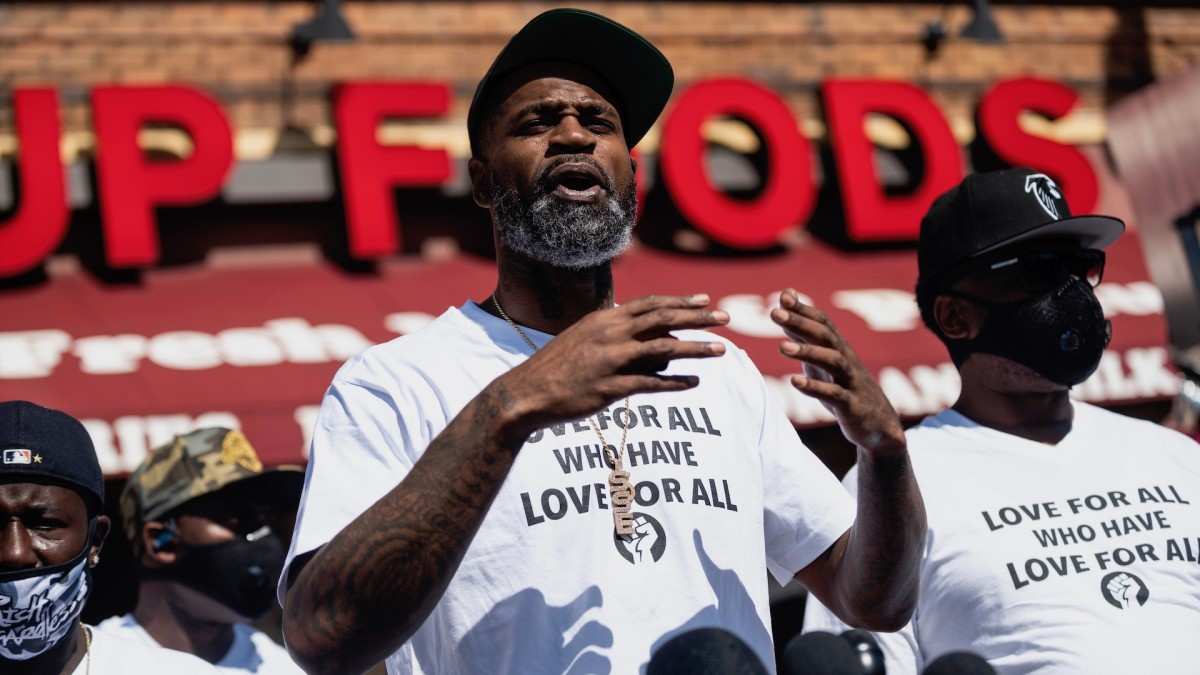 Stephen Jackson Sends Message to Donald Trump About George Floyd: 'Do Not Speak On My Brother's Name'