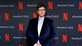 Hannah Gadsby attends the FYSEE Hannah Gadsby conversation and reception at Raleigh Studios