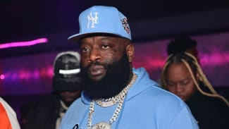 Rick Ross attends Lil Baby Live at Cosmopolitan