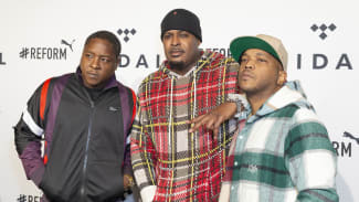 The Lox attends the 4th Annual TIDAL X: Brooklyn at Barclays Center