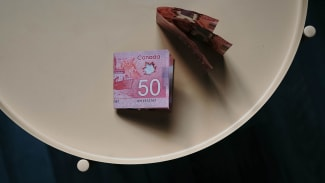 Canadian $50 bills