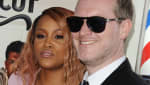 """Actress/rapper Eve and husband Maximillion Cooper attend the premiere of """"Barbershop: The Next Cut"""" at TCL Chinese Theatre."""