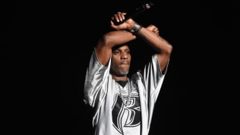 DMX performs onstage during the Bad Boy Family Reunion Tour