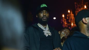 Rapper Meek Mill attends Dreams and Nightmares Halloween Party