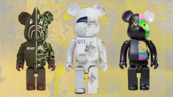 Bape KAWS Sorayama 1000 Bearbricks