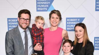 David McKean, Maeve Kennedy Townsend Mckean and family
