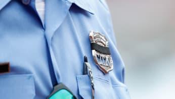 A Philadelphia Police Officer's badge