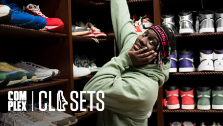 Lil Yachty Returns to Show Off One Of The World's Best Sneaker Collections On Part 1 Of Complex Closets