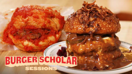 """How to Make a """"Gravy Burger"""" and a """"Wet Burger""""  