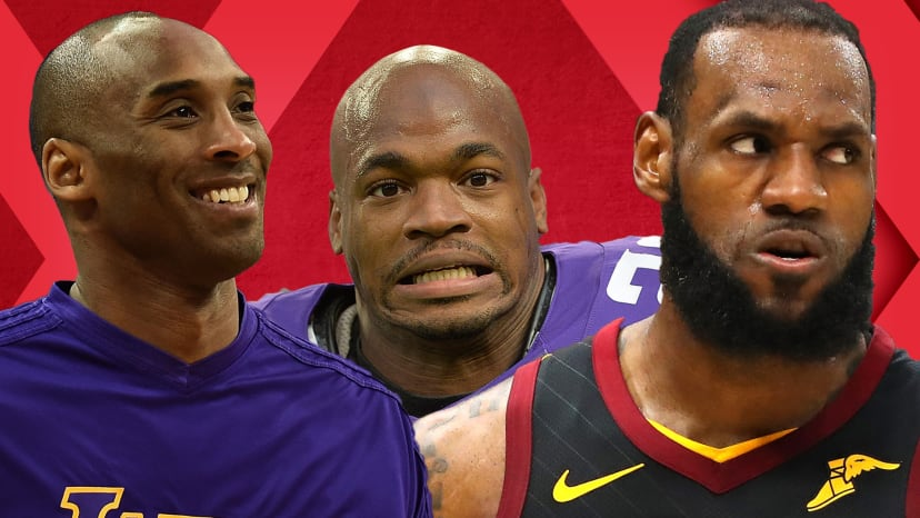 LeBron's NBA Finals Greatness, Kobe's Book and Adrian Peterson's Exit | Out of Bounds