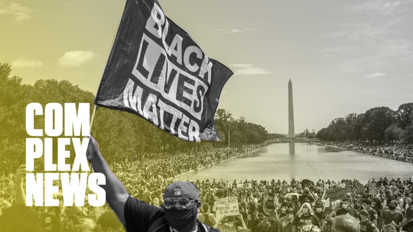 """On the Ground at The March on Washington: """"We Had Shackles, Now We Have Bullets"""""""