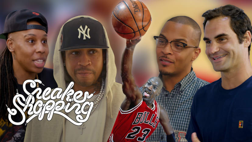 Sneaker Shopping: Celebrities Discuss Michael Jordan's Legacy