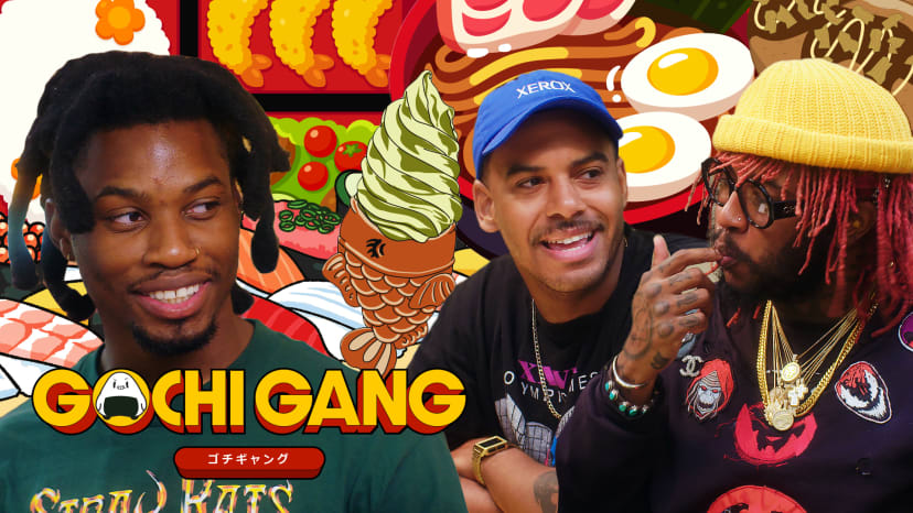 Anime Food Crash Course with Denzel Curry, Thundercat, and Zack Fox | Gochi Gang