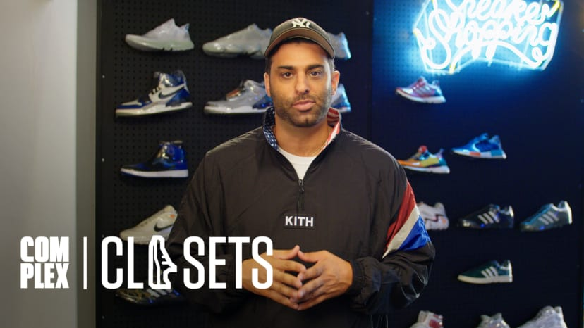 Joe La Puma Shows His Rare Sneaker Collection At The Complex Office On Complex Closets