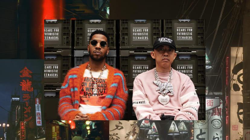 Kid Cudi and Nigo Complex September 2019 cover