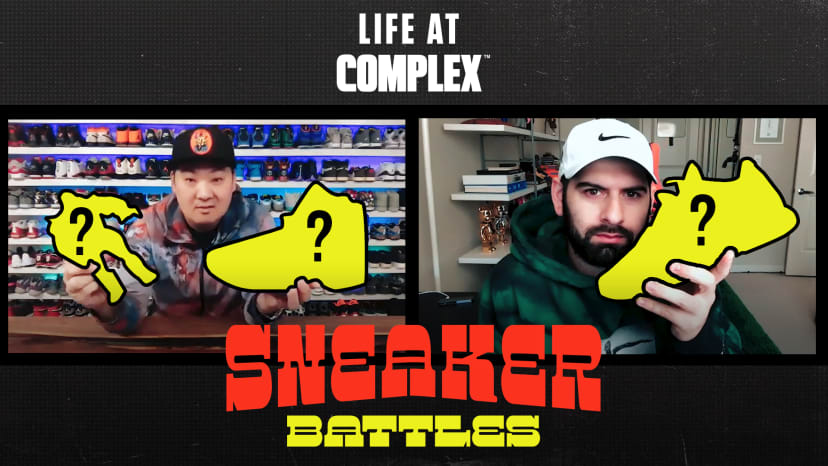 Qias Omar vs HesKicks In A Sneaker Battle From Home! | #LIFEATCOMPLEX