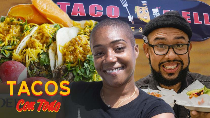 Tiffany Haddish Talks Pet Peeves, Richard Pryor, and the Famous White Dress | Tacos Con Todo