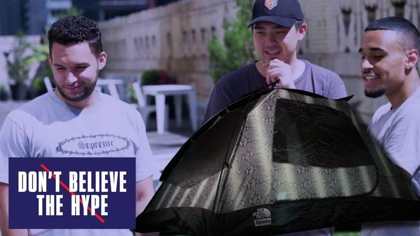 Supreme X North Face Tent | Don't Believe The Hype