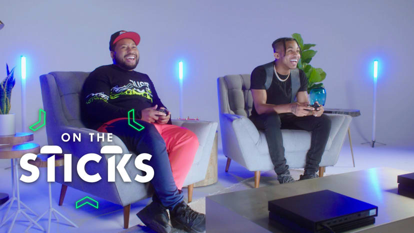 DDG and DJ Akademiks' 'NBA 2K' Faceoff Ends in Buzzer Beater | On the Sticks