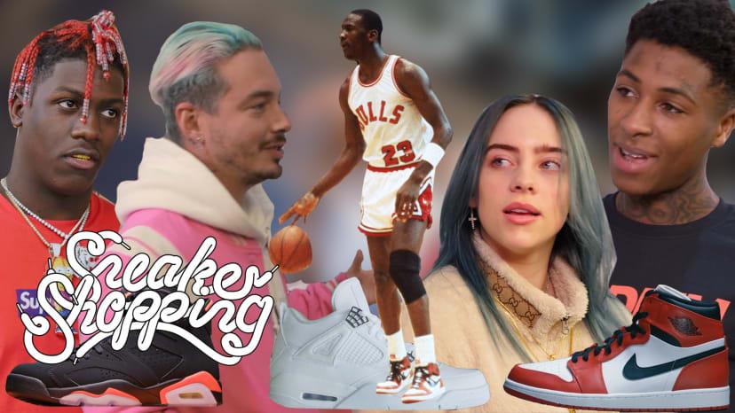 Sneaker Shopping: Celebrities Remember Their First Air Jordans