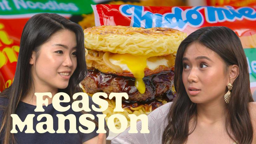 NIKI and Inga Lam Share Indomie Noodle Hacks | Feast Mansion