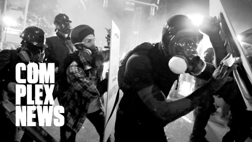 """On The Ground in Portland: """"This is a Direct Link to Immediate Fascism in America"""""""