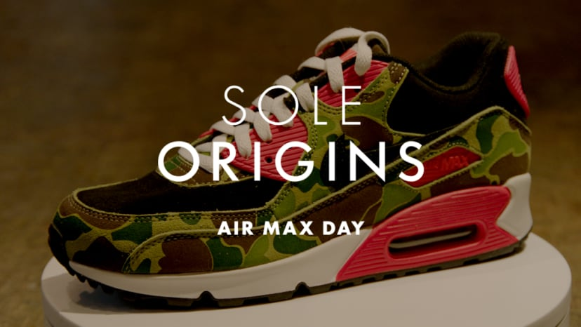 Air max Day Sole Origins