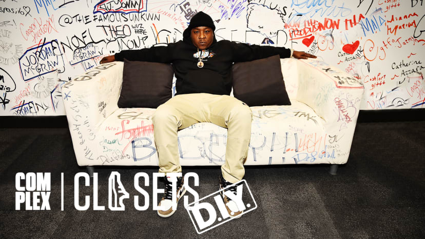 Jadakiss Shows Off More Than $60,000 Of Rare Sneakers on Complex Closets