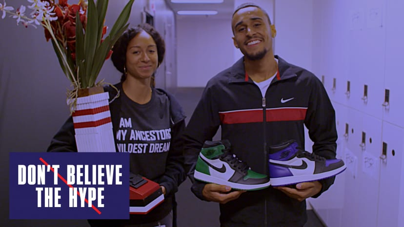 New Jordan 1 Pine Green vs Court Purple | Don't Believe The Hype