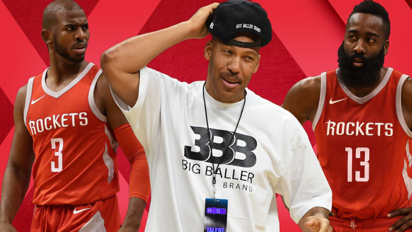 is big baller brand falling apart are rockets biggest threat in west out of bounds