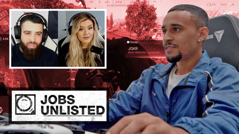 How to be a pro gamer w/FaZe Apex, BrookeAB, & Swagg in Warzone, Fortnite & NBA 2K | Jobs Unlisted