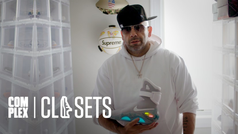 Mayor Shows Off Some of The World's Rarest and Most Expensive Sneakers on Part Two Of Complex Closet
