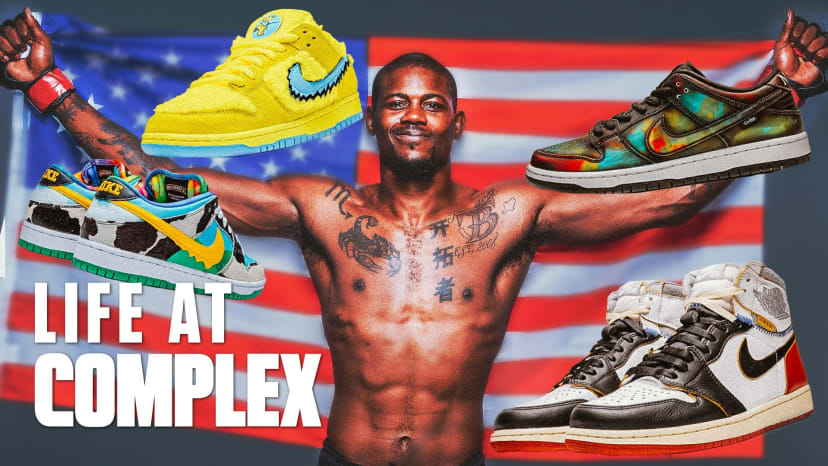 UFC Kevin Holland Is Building His Sneaker Collection At A Rapid Pace! | #LIFEATCOMPLEX