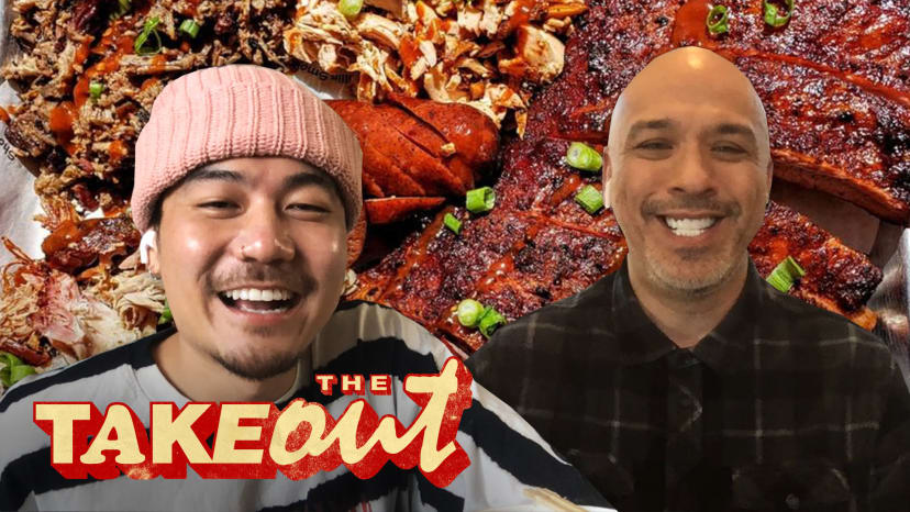 Jo Koy and Dumbfoundead Feast on Barbecue and Talk Stand-Up Comedy   The Takeout