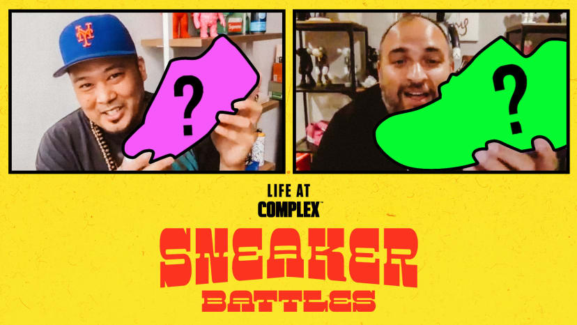 Extra Butter's Bernie Gross vs SneakerRoom's Suraj Kaufman In A SneakerBattle | #LIFEATCOMPLEX