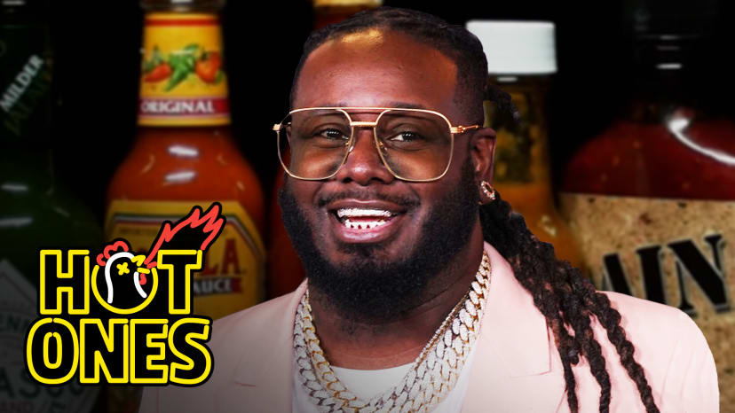 T-Pain Tastes Gas While Eating Spicy Wings | Hot Ones