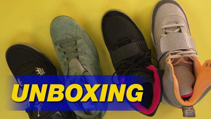 Rapper Sneaker Collab Unboxing