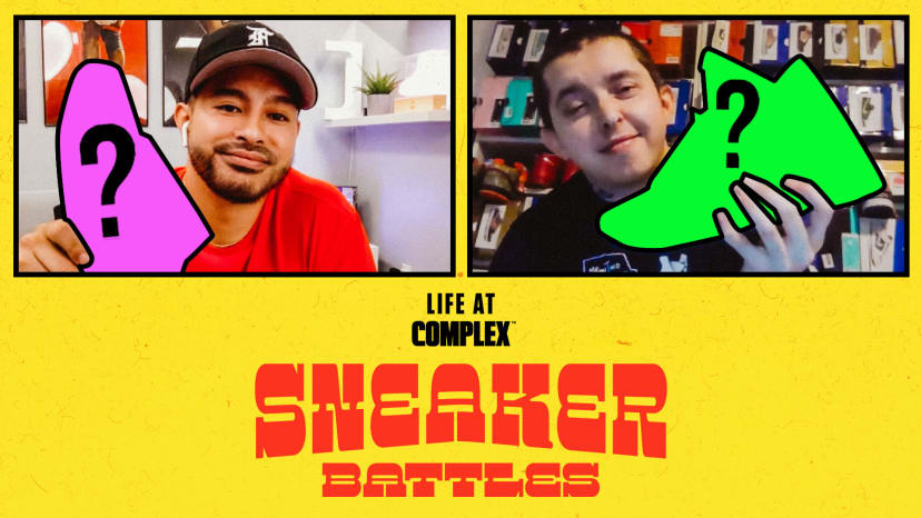 RichieLe vs Franalations In A SneakerBattle | #LIFEATCOMPLEX