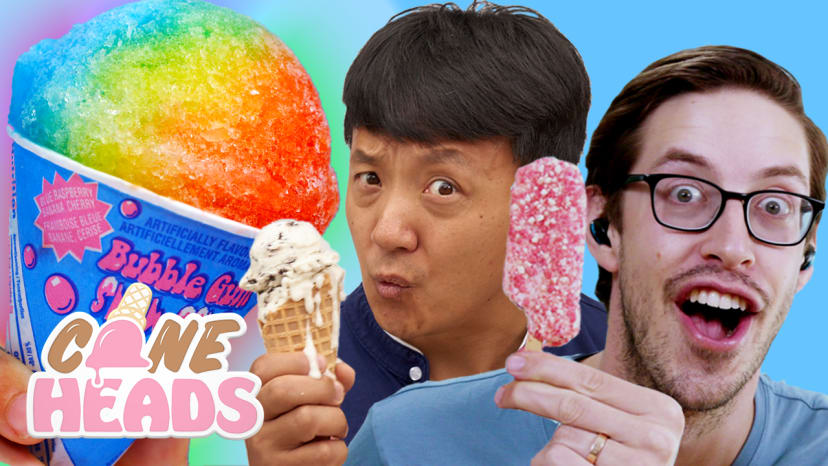 Keith From the Try Guys and Mike Chen Eat Everything From an Ice Cream Truck | Coneheads